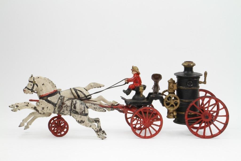 Horse Drawn Fire Pumper Rig