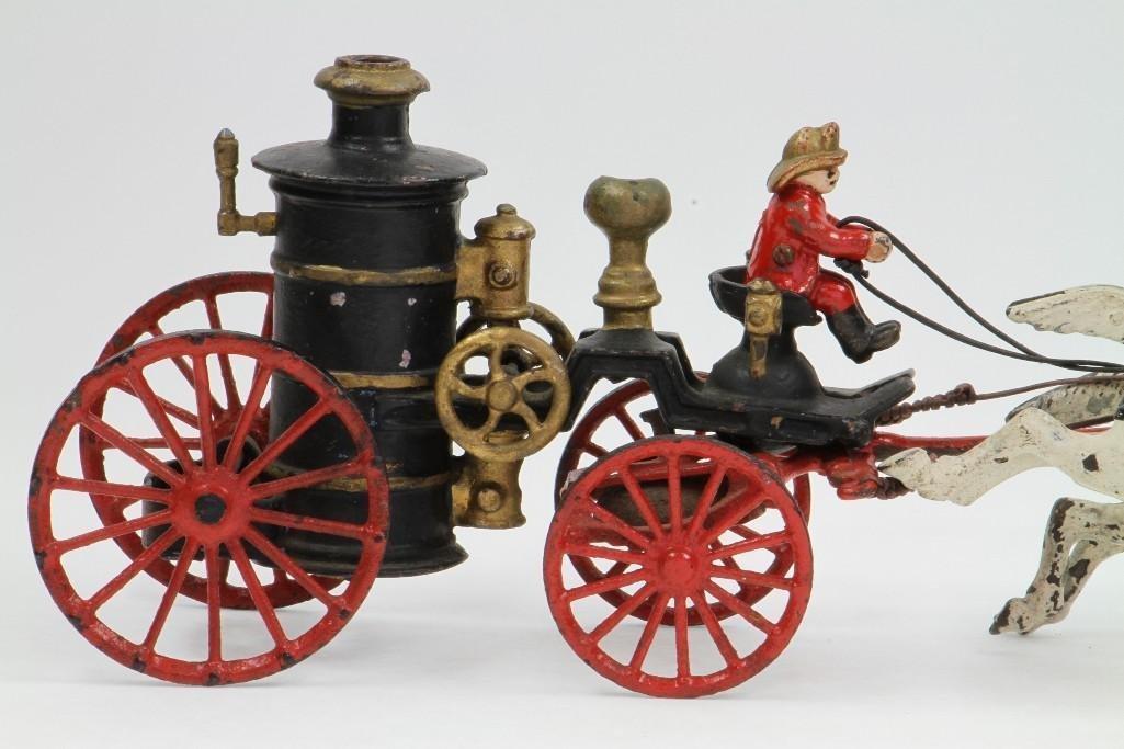 Horse Drawn Fire Pumper Rig - 3