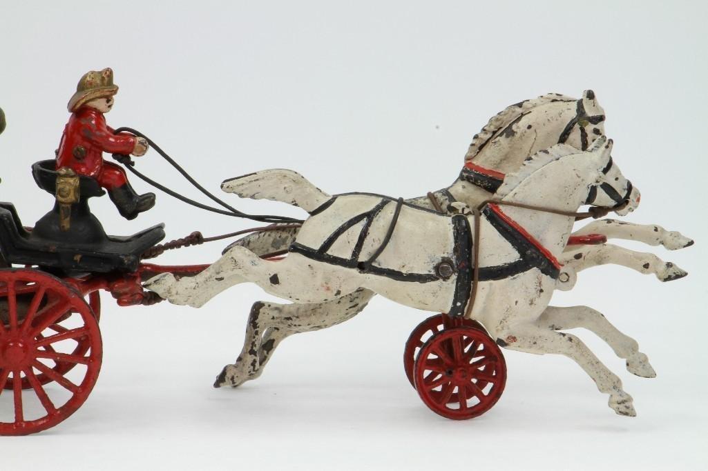Horse Drawn Fire Pumper Rig - 4