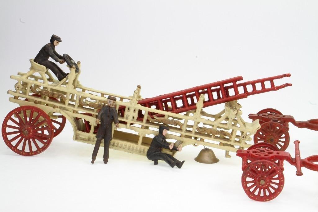 Horse Drawn Ladder Toy - 2