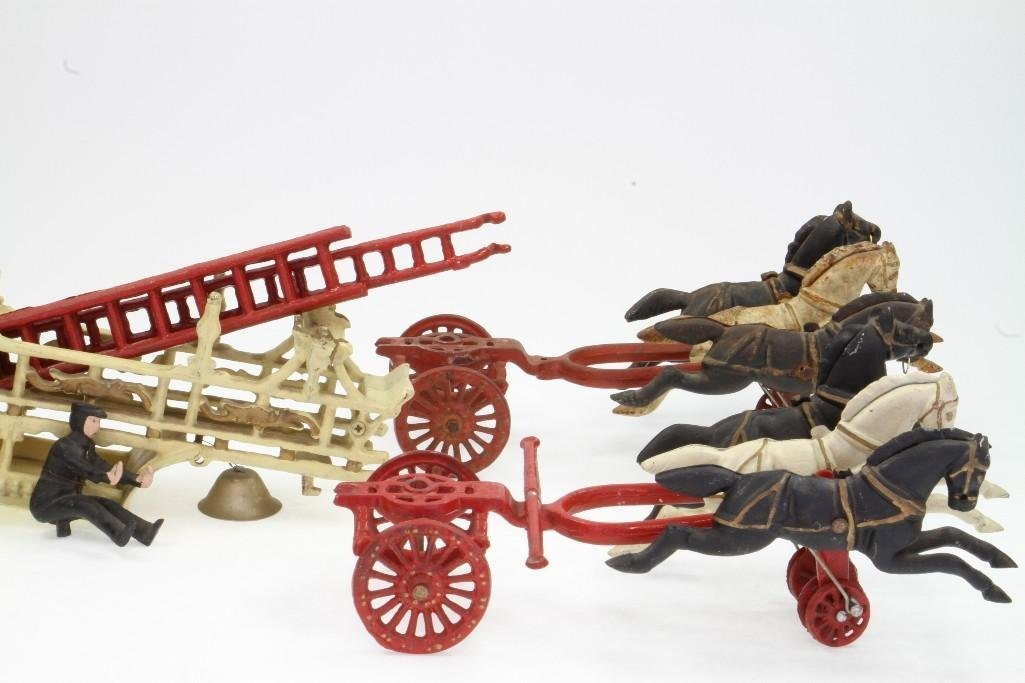 Horse Drawn Ladder Toy - 3