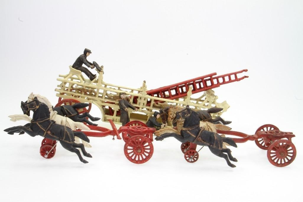Horse Drawn Ladder Toy - 4