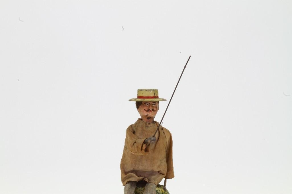 Clothed Fisherman Figure - 2