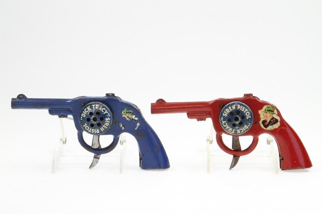 Dick Tracy Siren Pistols
