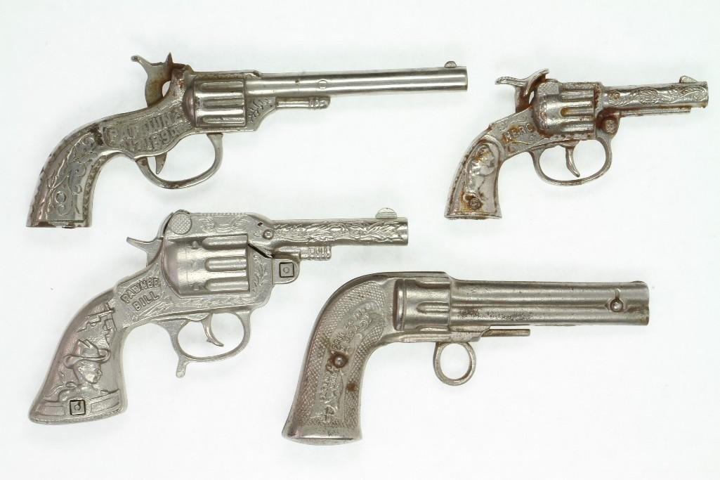 Lot of (4) Six Shooters