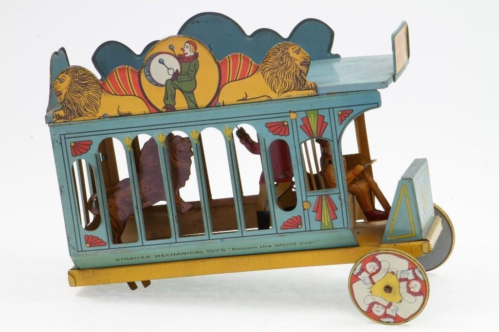 Big Show Circus Wagon