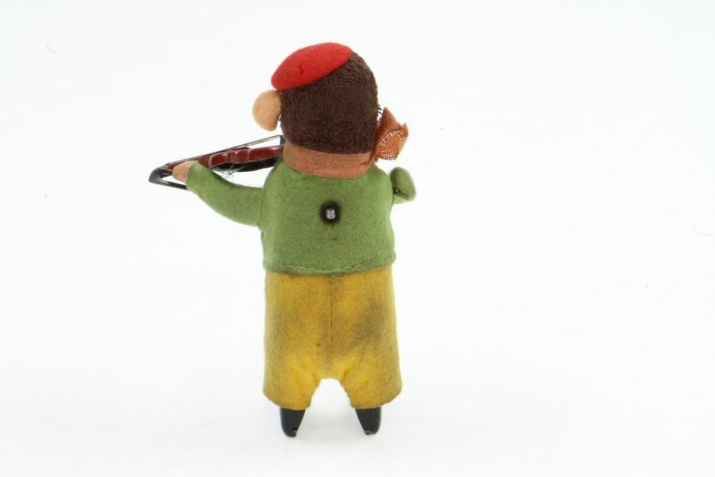 Schuco Animated Monkey with Violin - 2