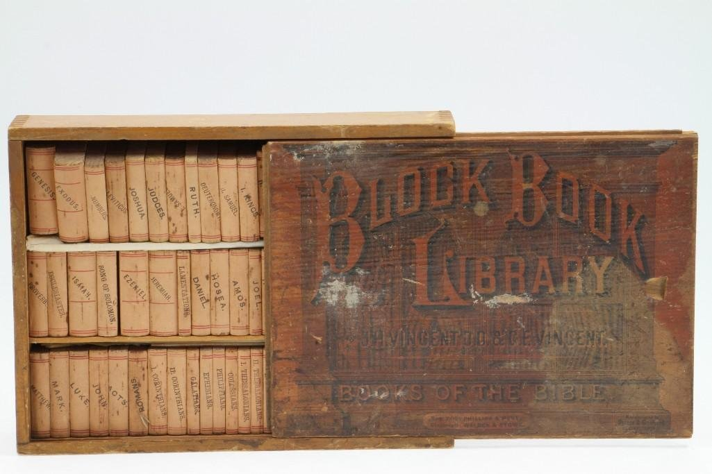 Book Block Library-Books of the Bible