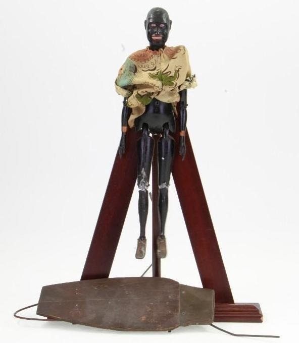 Black Figure on Plinth - 2