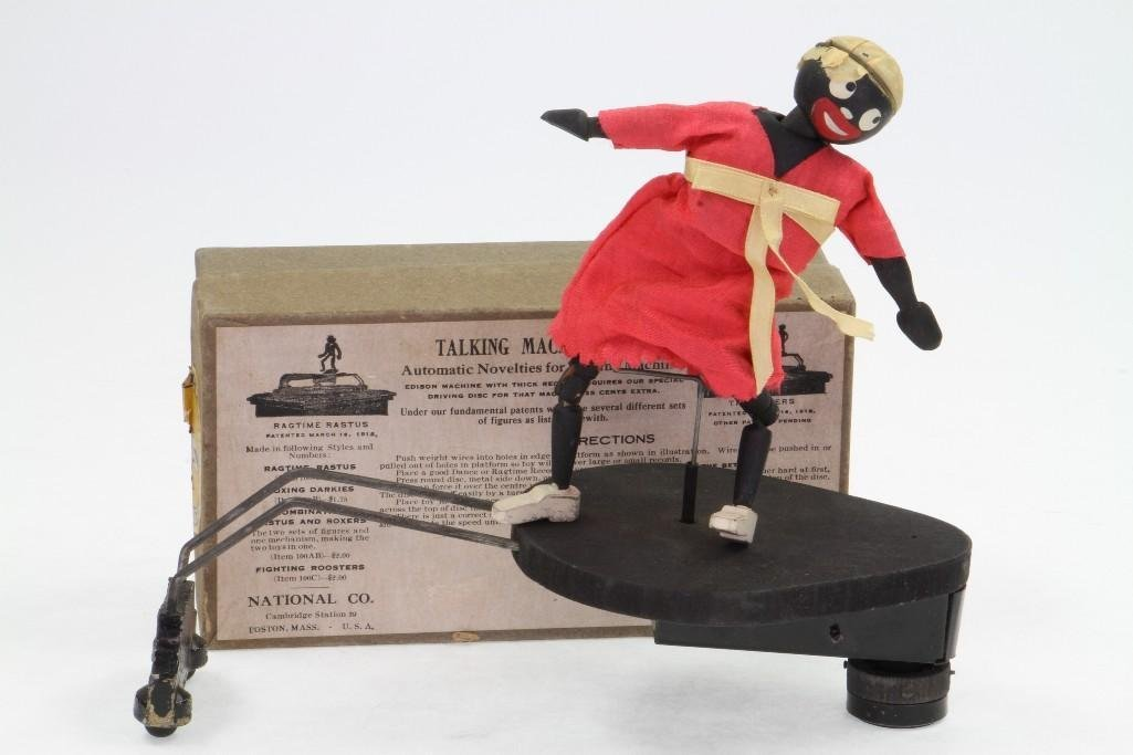 Ragtime Rastus Toy with Labeled Box