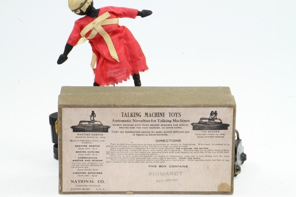 Ragtime Rastus Toy with Labeled Box - 4