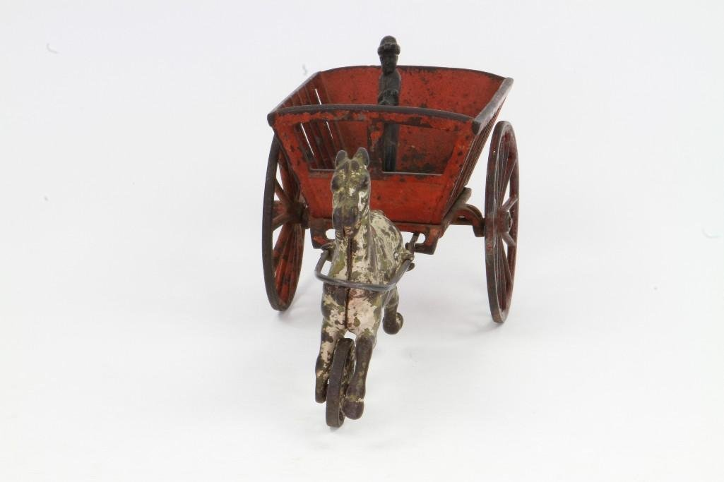 Horse Drawn Cart with Figure - 4