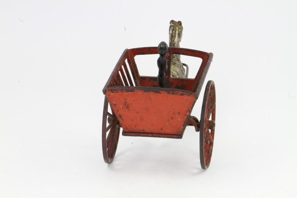 Horse Drawn Cart with Figure - 5