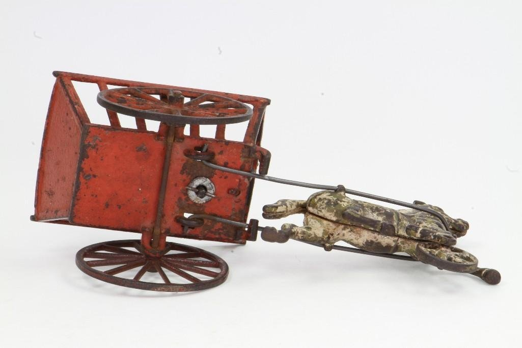 Horse Drawn Cart with Figure - 6