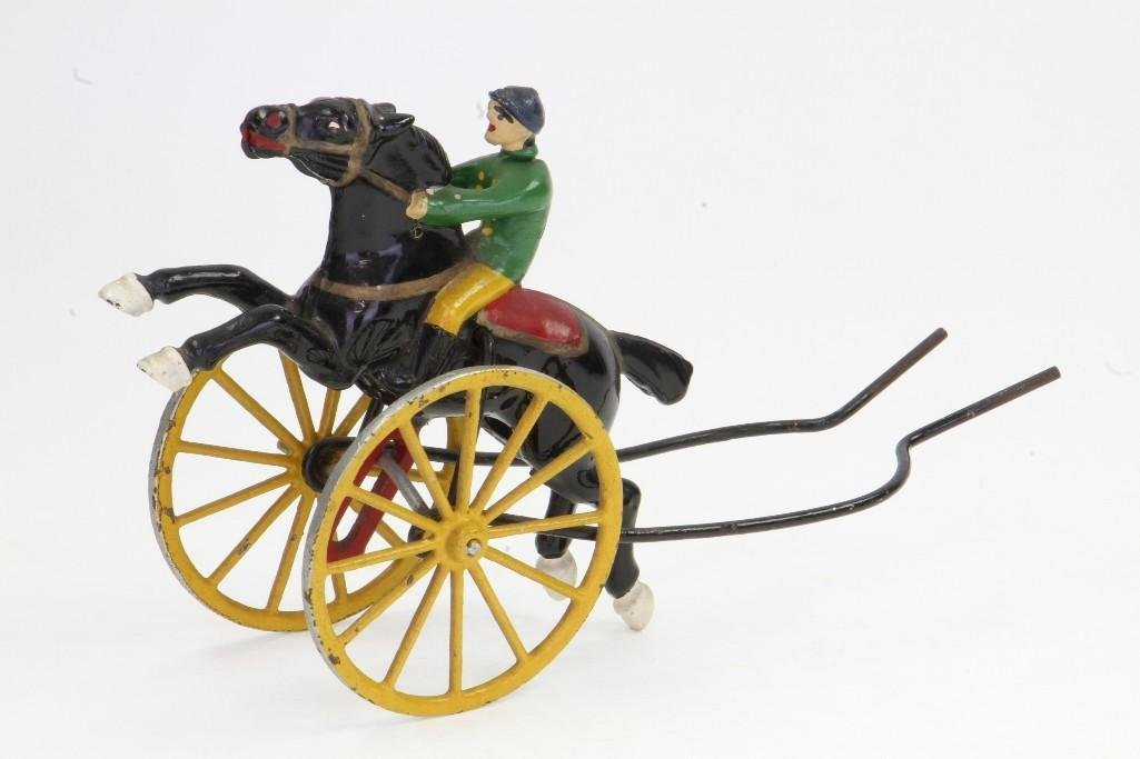 Racing Horse Push Toy - 3