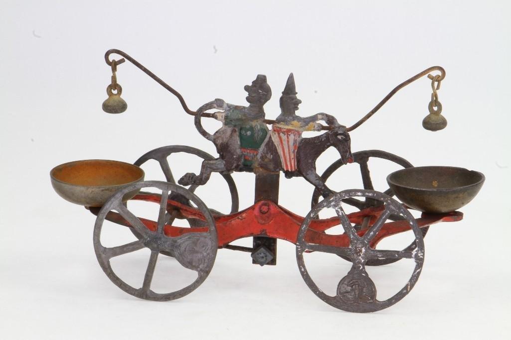 Clown Bell Ringer Pull Toy - 4
