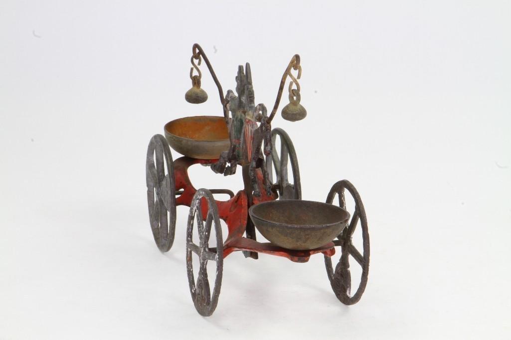 Clown Bell Ringer Pull Toy - 5