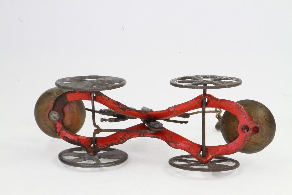 Clown Bell Ringer Pull Toy - 6