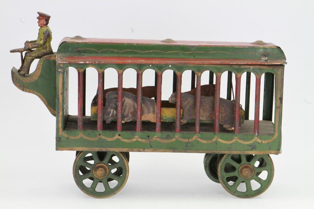 Motorized Circus Animal Cage - 3