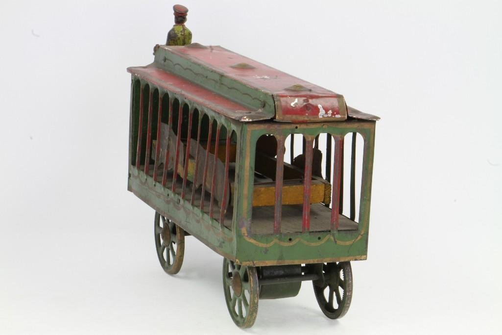 Motorized Circus Animal Cage - 4
