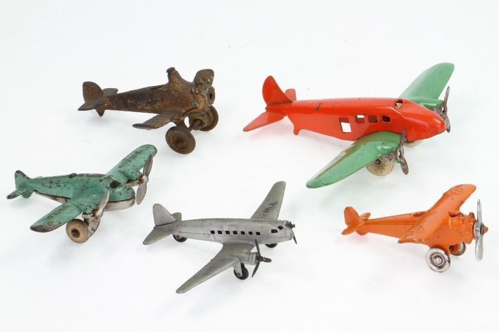 (5) Piece Aircraft Lot