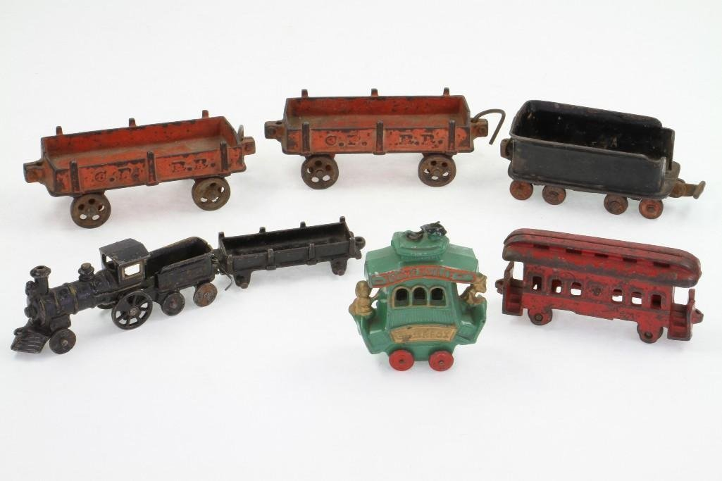 (7) Piece Railroad Subject Lot