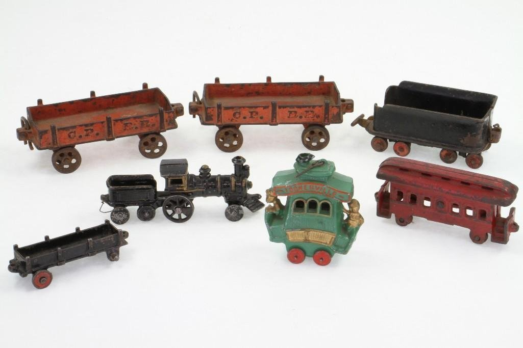 (7) Piece Railroad Subject Lot - 2
