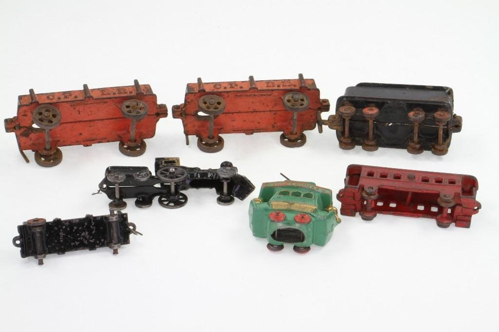 (7) Piece Railroad Subject Lot - 3