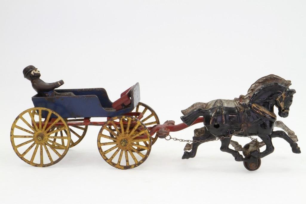 Horse Drawn Goods Wagon