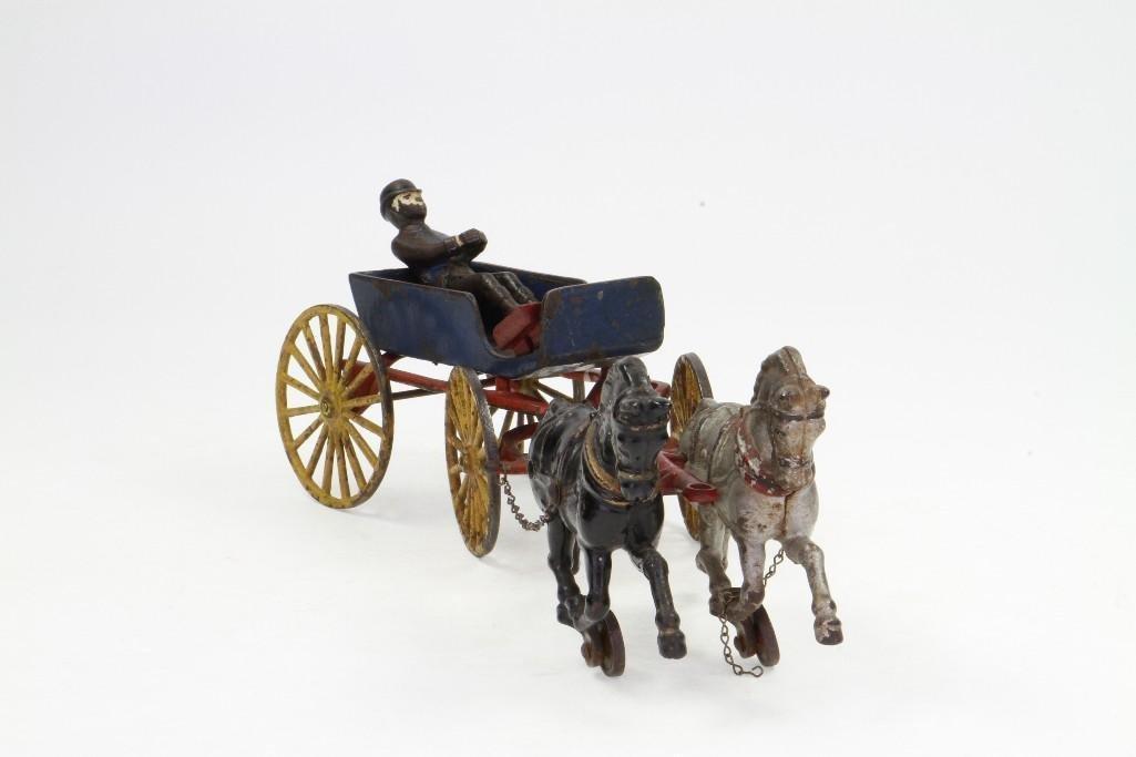 Horse Drawn Goods Wagon - 2