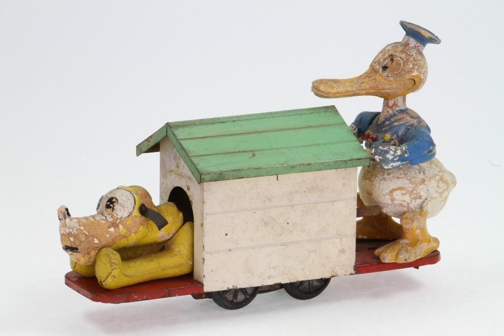Lionel Donald Duck and Pluto Handcar - 2