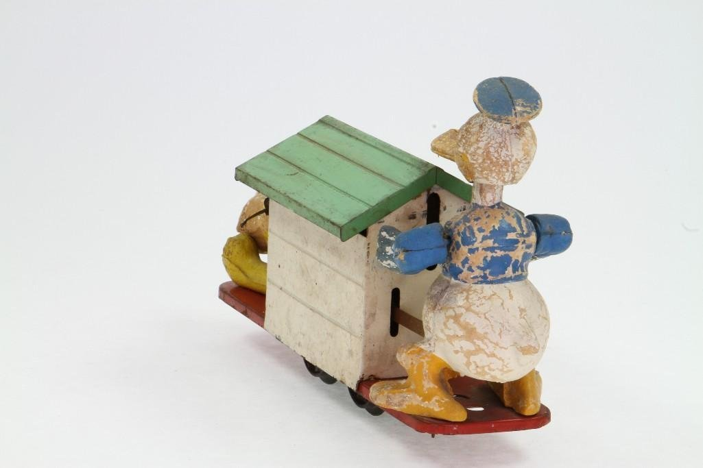 Lionel Donald Duck and Pluto Handcar - 4