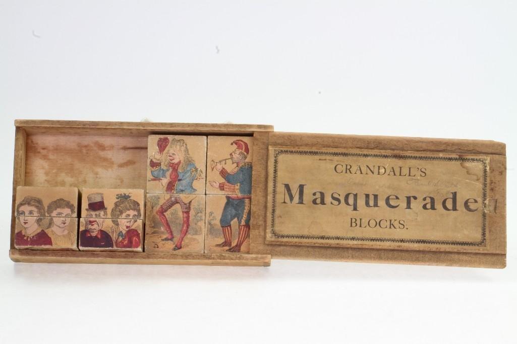 Crandall's Masquerade Block Set - 3
