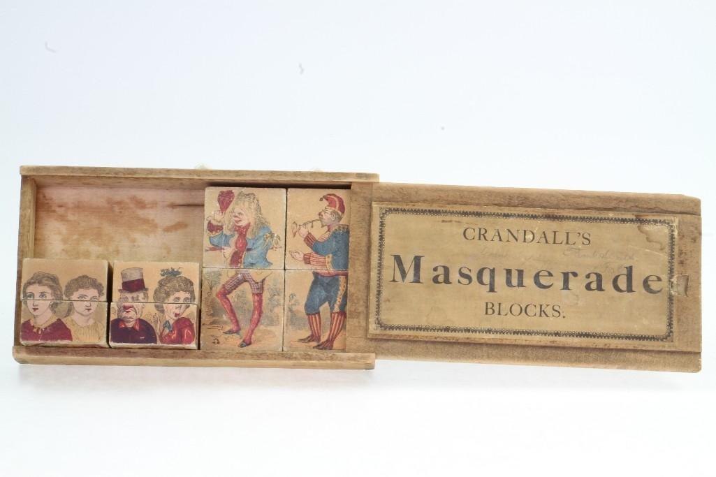 Crandall's Masquerade Block Set - 4