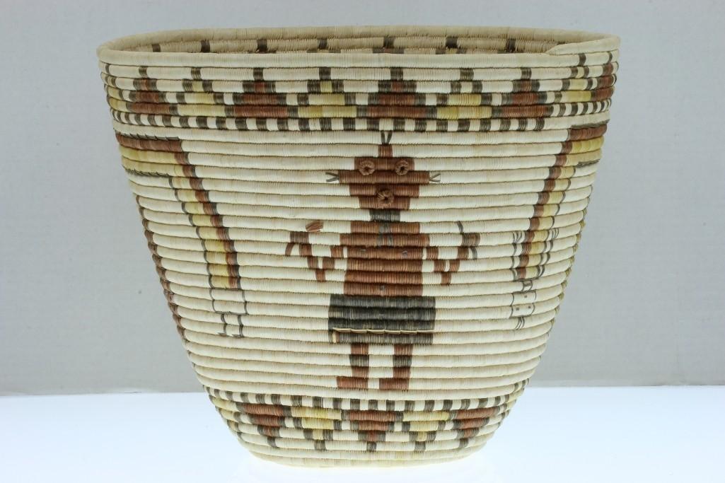 Hopi pictorial basket - 2