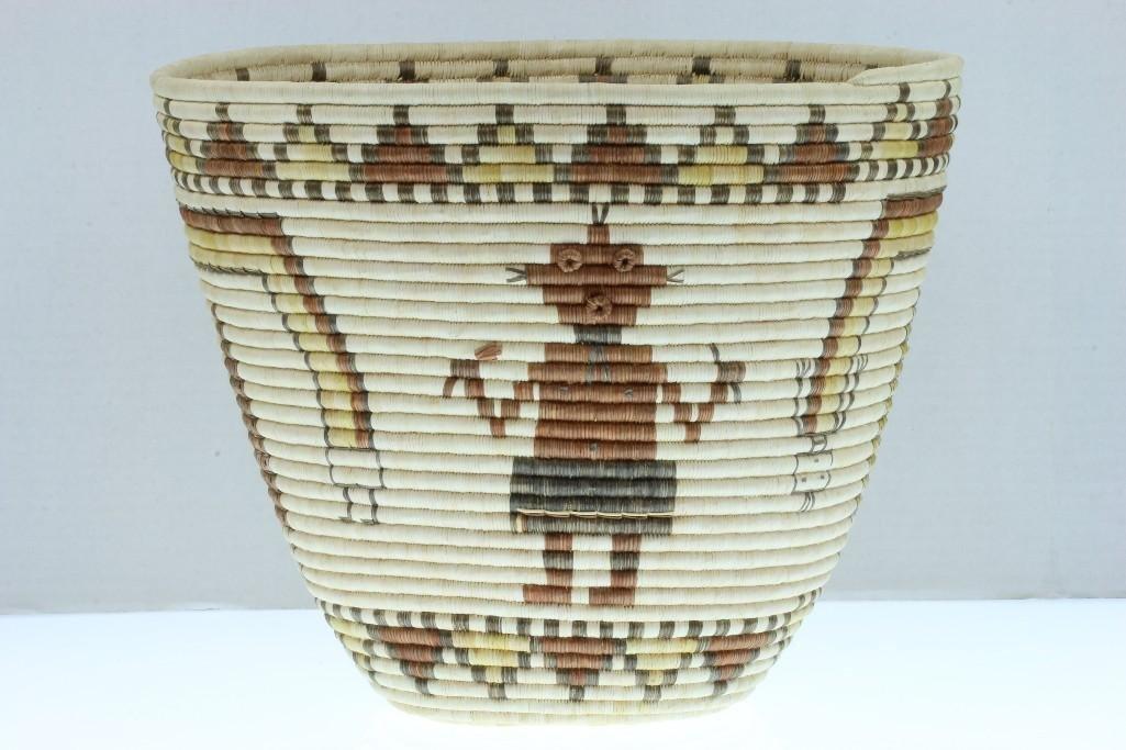 Hopi pictorial basket - 3