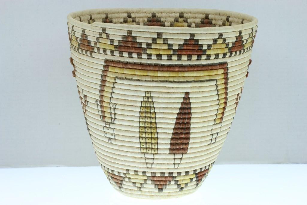 Hopi pictorial basket - 4