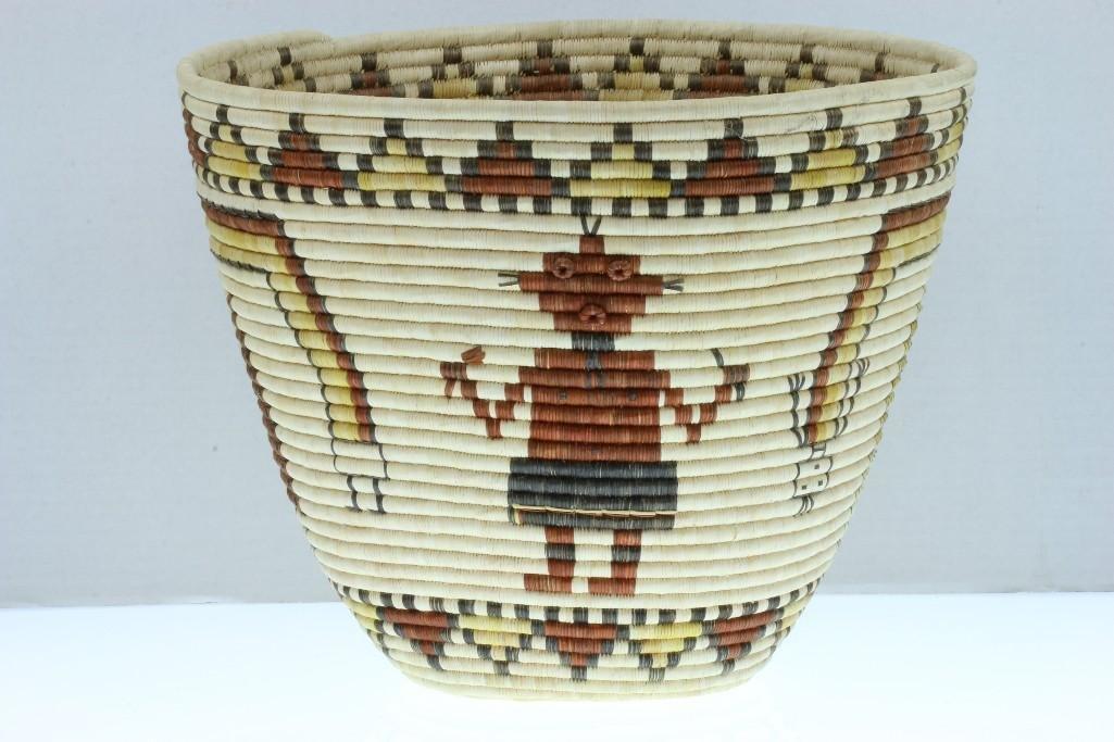 Hopi pictorial basket - 5