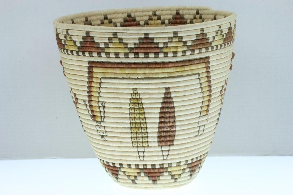 Hopi pictorial basket - 6