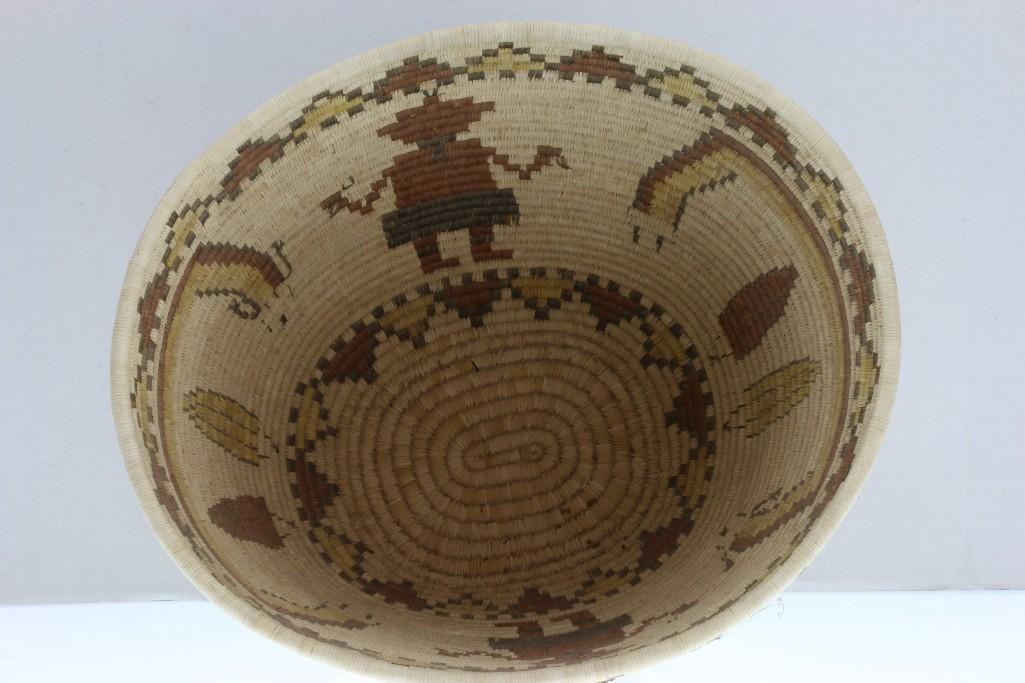 Hopi pictorial basket - 7