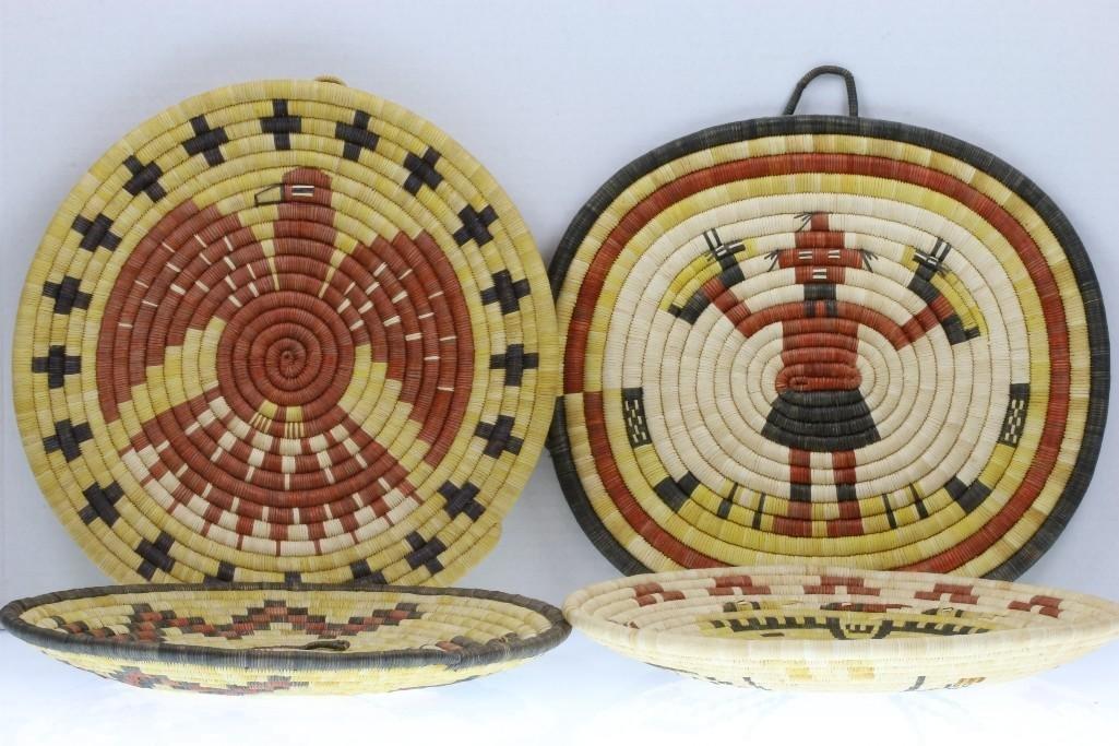 Four Hopi pictorial plaques - 2