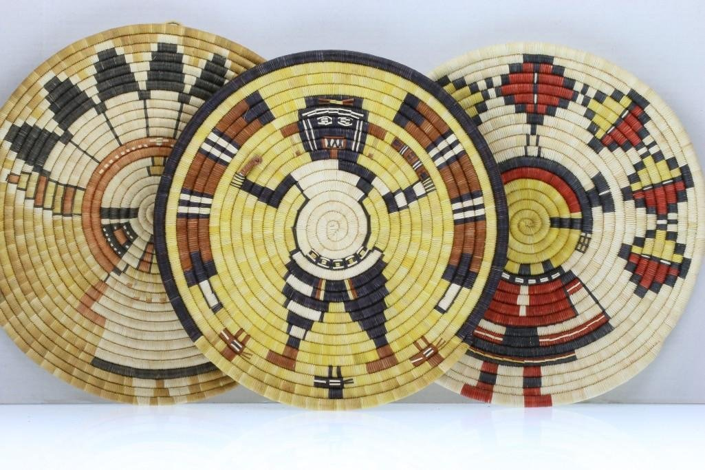 Three Hopi pictorial plaques - 4