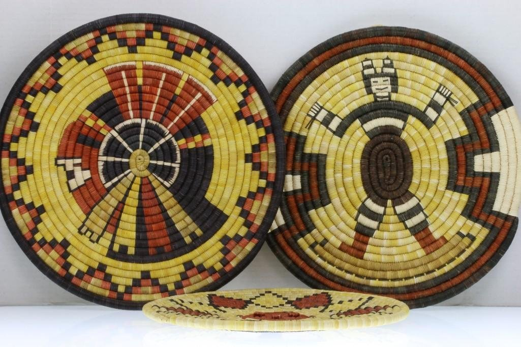 Three Hopi pictorial plaques - 2