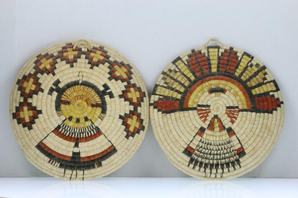 Three Hopi pictorial plaques - 4