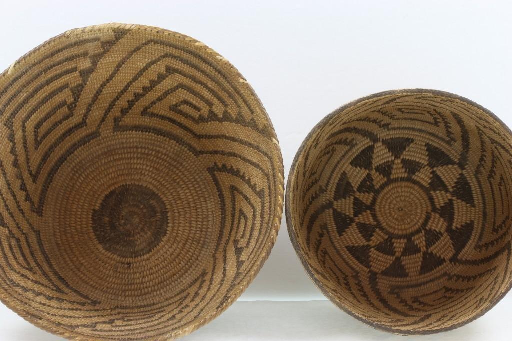 Two Pima baskets - 3