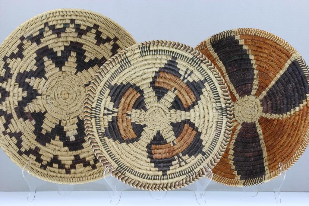 Three Navajo trays - 2