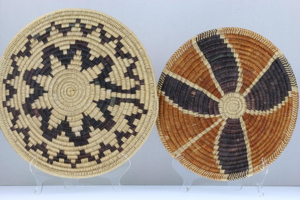 Three Navajo trays - 3