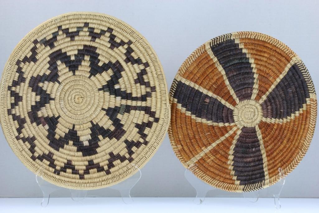 Three Navajo trays - 4
