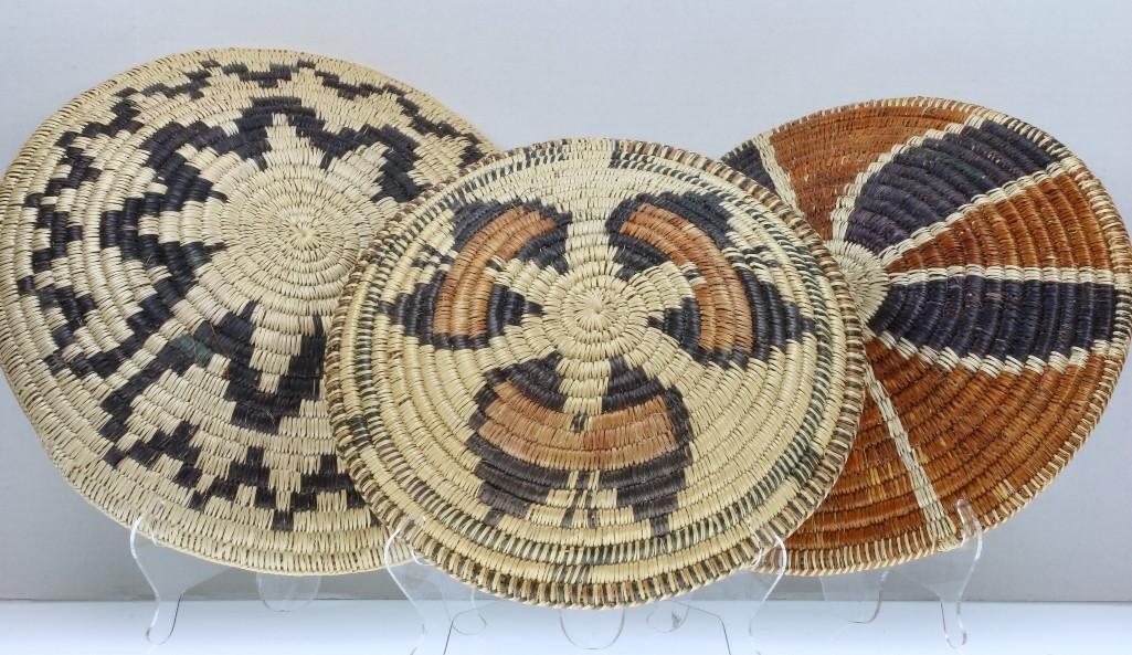 Three Navajo trays - 6