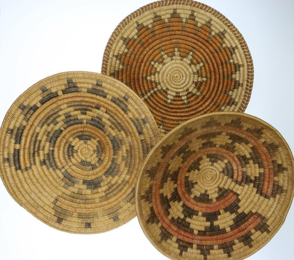 Three Navajo ceremonial trays - 2